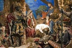 Baroque Bethlehem In Prague Stock Photo