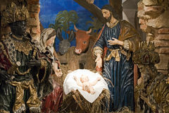Baroque Bethlehem In Prague Stock Photography