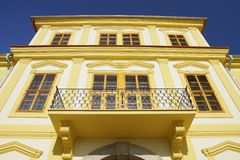 baroque building Royalty Free Stock Photo