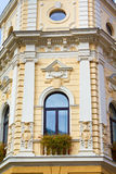 Baroque building facade Stock Photo