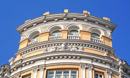 Baroque building, madrid Royalty Free Stock Photography