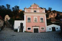 Baroque building in Mikulov Stock Image