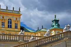 Baroque building Wilanow Royalty Free Stock Photos