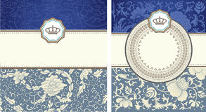 Baroque card Royalty Free Stock Images