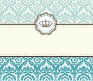 Baroque card Stock Photo