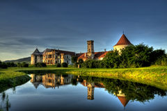 Baroque Castle. Baroque Transylvanian Castle in Bontida, near Cluj, Romania Stock Photography
