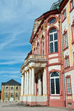 Baroque castle in Bruchsal, Germany Royalty Free Stock Photo
