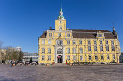 Baroque castle on the central square of Oldenburg Royalty Free Stock Image