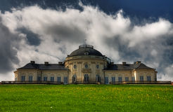 Baroque castle HDR Stock Images