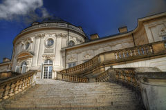 Baroque castle HDR. Solitude   baroque castle  from south Germany Royalty Free Stock Photos