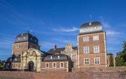 Baroque castle in the historical center of Ahaus. Germany Stock Photos
