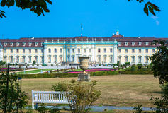 Baroque castle Ludwigsburg Stock Photo