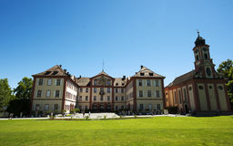 Baroque castle on the Mainau island/Germany Royalty Free Stock Images