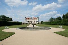 Baroque castle Milotice, Czech republic, royalty free stock images