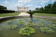 Baroque castle Milotice, Czech republic, royalty free stock image