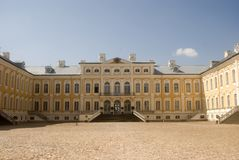 Baroque castle, Rundale, Latvia Stock Photography