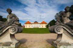 Baroque castle in Slavkov Royalty Free Stock Photography