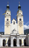 Baroque cathedral Royalty Free Stock Photos