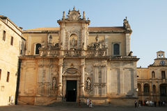 Baroque catthedral Royalty Free Stock Image