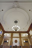 Baroque Ceiling in Pioneer Courthouse Royalty Free Stock Photo