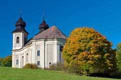 Baroque Chapel Stock Image