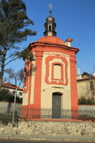 Baroque chapel in Prague Royalty Free Stock Photography