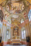 Baroque chapel of Saint Anton palace Royalty Free Stock Photography