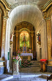 Baroque chapel of Senhora da Graca Royalty Free Stock Photography