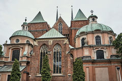 Baroque chapels of a Gothic church Royalty Free Stock Photo