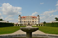 Baroque Chateau Milotice Stock Photography