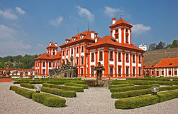 Baroque chateau Stock Images