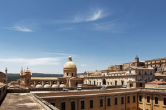 Baroque chatedral of noto, overall view Stock Image