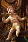 Baroque cherub Royalty Free Stock Photography