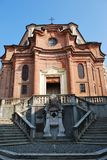 Baroque church Stock Photography