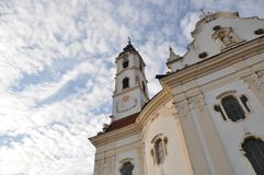 Baroque church Stock Photos