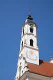Baroque church Stock Images