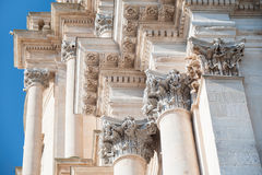 Baroque church Royalty Free Stock Image