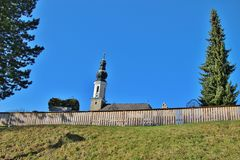 Baroque church in Austria. Stock Images