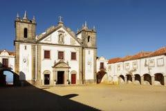 Baroque Church, Cape Espichel, Portugal Stock Image