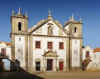 Baroque Church, Cape Espichel, Portugal Royalty Free Stock Photos