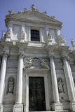 Baroque church Chiesa dei Gesuiti, Venice Stock Image