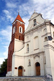 The baroque church Stock Images