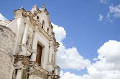 Baroque church in Havana, Cuba Stock Photo