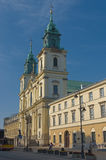 Churches of Poland - Warsaw Royalty Free Stock Image