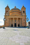 Baroque church in Malta Royalty Free Stock Photo