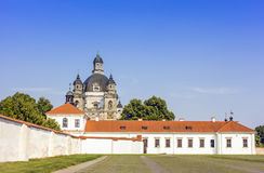 Baroque church and monastery Royalty Free Stock Image