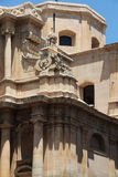 Baroque church in noto, sicily Royalty Free Stock Image