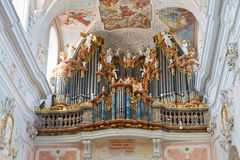 Baroque Church Organ Royalty Free Stock Image