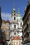 Baroque church in Prague, Czech Republic Royalty Free Stock Photography
