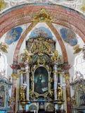 Baroque Church Prague, Czech Republic Royalty Free Stock Photos